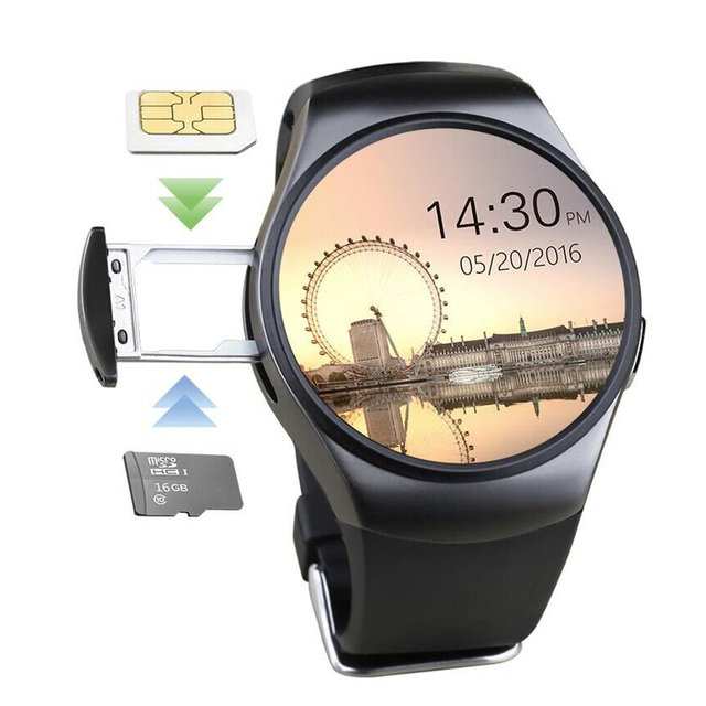 Silicone Smart Watch With Speaker