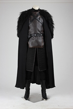 Game of Thrones Cosplay Costume Superhero Jon Snow Outfit A song of ice and fire Halloween Costumes For Men Customized Full Set