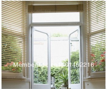 FREE SHIPPING  WOOD WOODEN VENETIAN BLINDS REAL WOOD-- MADE TO MEASURE 5CM & 3.5CM WIDTH SLATS