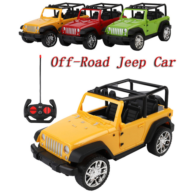 Easy To Control Remote Controlled Jeep Car Radio Control Toys Car