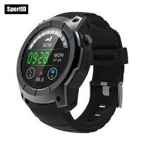 Yeni GPS Akıllı İzle Nabız Hava Basıncı Spor Smartwatch Hafıza Kartı S958 Dial Cevap Çağrı SIM için Saatler telefon