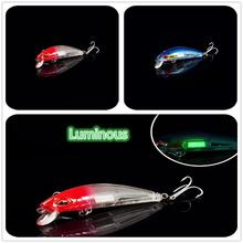 Buy HobbyLane Fishing Wobblers Lure Fishing Minnow 7cm 10.4g All Goods for Fish Lures Artificial Bait Pencil Feeder Luminous Fishing directly from merchant!