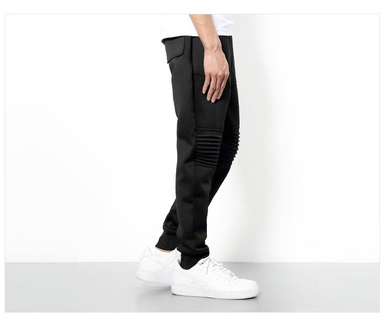 Men Sport Pant Space Cotton Joggers Harem Pants Fashion Hiphop Sport Tracksuit Mens Solid Black Jogging Trousers Sweatpants 3XL (16)
