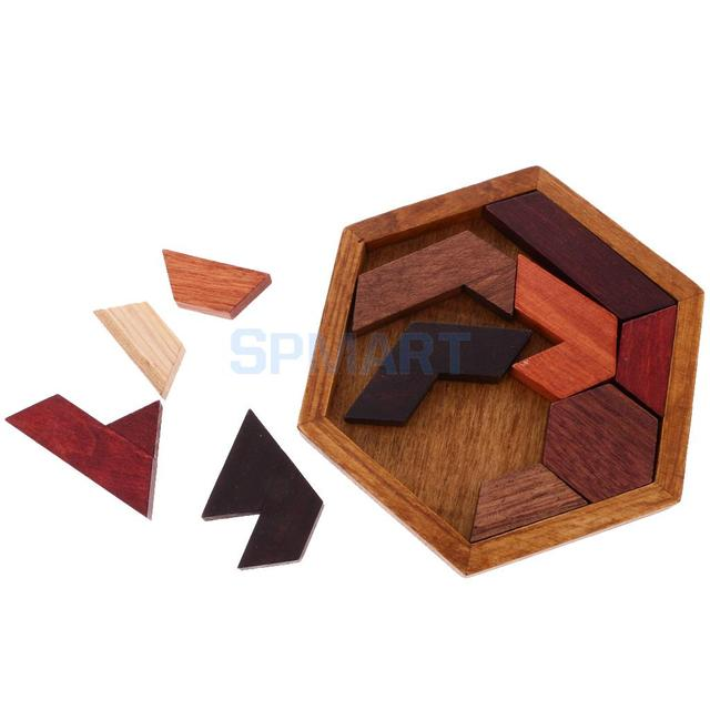 Chinese Traditional Wooden Intelligence Toy Kongming Lock Luban Lock Classical Brain Teaser Game Toy Educational Toys