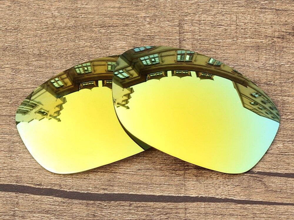 Polycarbonate-24k Золотой Зеркало Замена Оптические стёкла для Pit Bull Солнцезащитные очки для женщин Рамки 100% UVA и UVB Защита