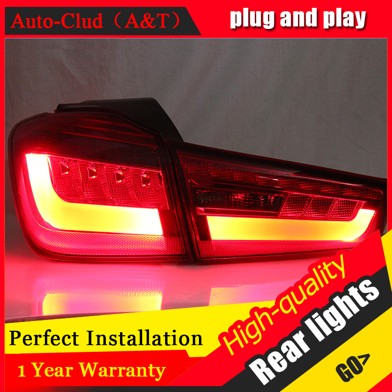 Авто облаке стайлинг для Мицубиси ASX задние фонари нового ASX и светодиодный задний фонарь Аутлендер экс светодиодные задние лампы ДРЛ+Тормозная+Парк+сигнала светодиодный L