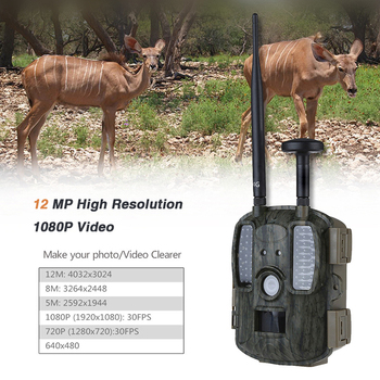 Cámara de caza GPS 4G cámara de rastro de Vida Silvestre GSM trampa foto explorador visión nocturna Hunter Cámara Chasse hunter Cámara