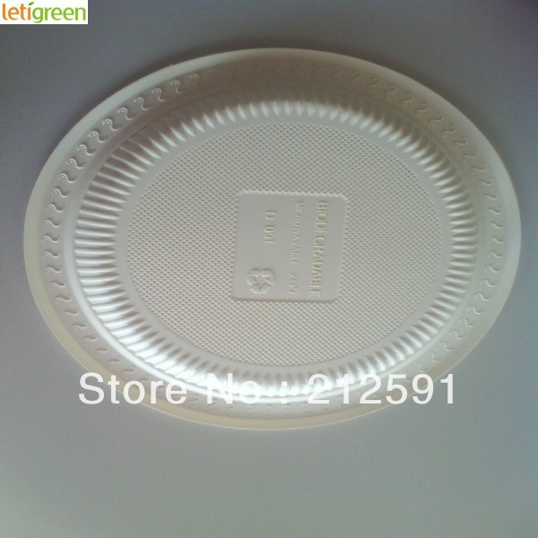 Sustainable Cornstarch Disposable Buffet Plates Quality Plastic ...