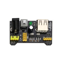 AC/DC Adapters MB102 Breadboard Power Supply Module 3.3V/5V For Solderless Bread Board keyes zy 55 solderless mini 55 hole bread board pcb test board set white multi colored