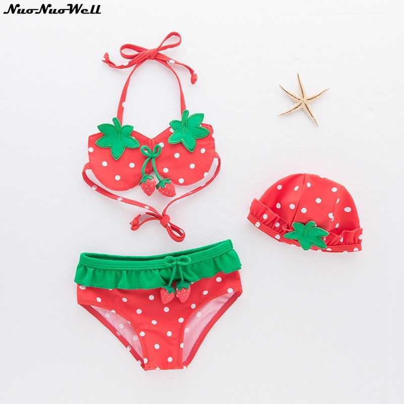6c97832f5f7f Detail Feedback Questions about Baby Swimsuit Girl Bikini Swimsuit Cute  Kids Bathing Suit Baby Girl Swimwear Skirt 3pcs Elegant Hat+bra+pants Infant  ...