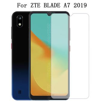 Перейти на Алиэкспресс и купить Защитная пленка для экрана из закаленного стекла для ZTE BLADE A7, 9 H, Передняя пленка для мобильного телефона ZTE Blade A7 Helio P60, 2019