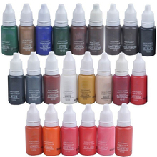 15 Ml MICROBLADING SUPPLIES Permanent Makeup Cosmetic Tattoo Pigment Ink Eyebrow Eyeliner Microblading Pigment usa baodeli 23colors permanent makeup cosmetic tattoo ink kit micro pigments color 1 2 oz for permanent makeup eyebrow eyeliner