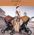 Gubi carrinho de bebê carrinho de bebê carrinho de quatro rodas carrinho de bebê dobrável carrinhos DA UE