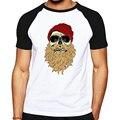 Casual camisetas homens roupas engraçadas teste padrão dos crânios de imagem projetada canadá marca masculino T-shirt camiseta manga curta de boa qualidade