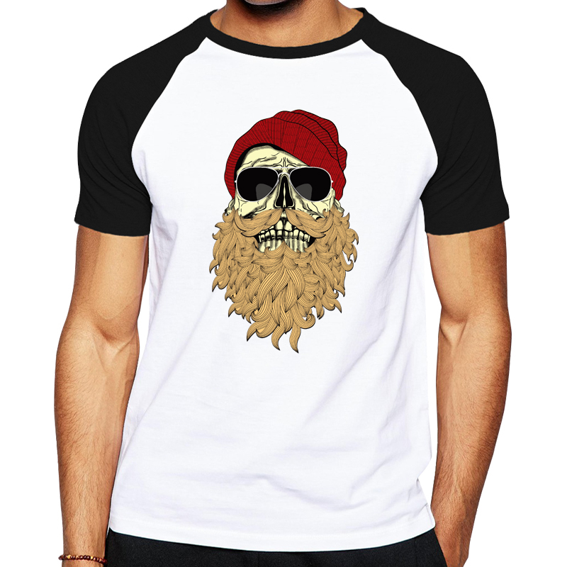Casual tee shirts image designed men clothes funny skulls for Successful t shirt brands