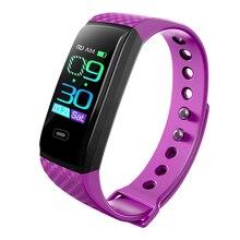 CK17S Color Screen Smart Bracelet Sports Pedometer Watch Fitness Running Walking Tracker Heart Rate Band