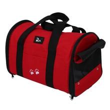 נייד ורך L לחיות מחמד כלב חתול נסיעות Carrier תיק תיק כתף תיק שימוש כפול 2 צבעים