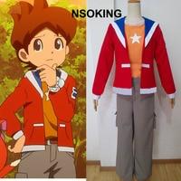 Anime Youkai Watch Amano Keita Cosplay Costume Custom made