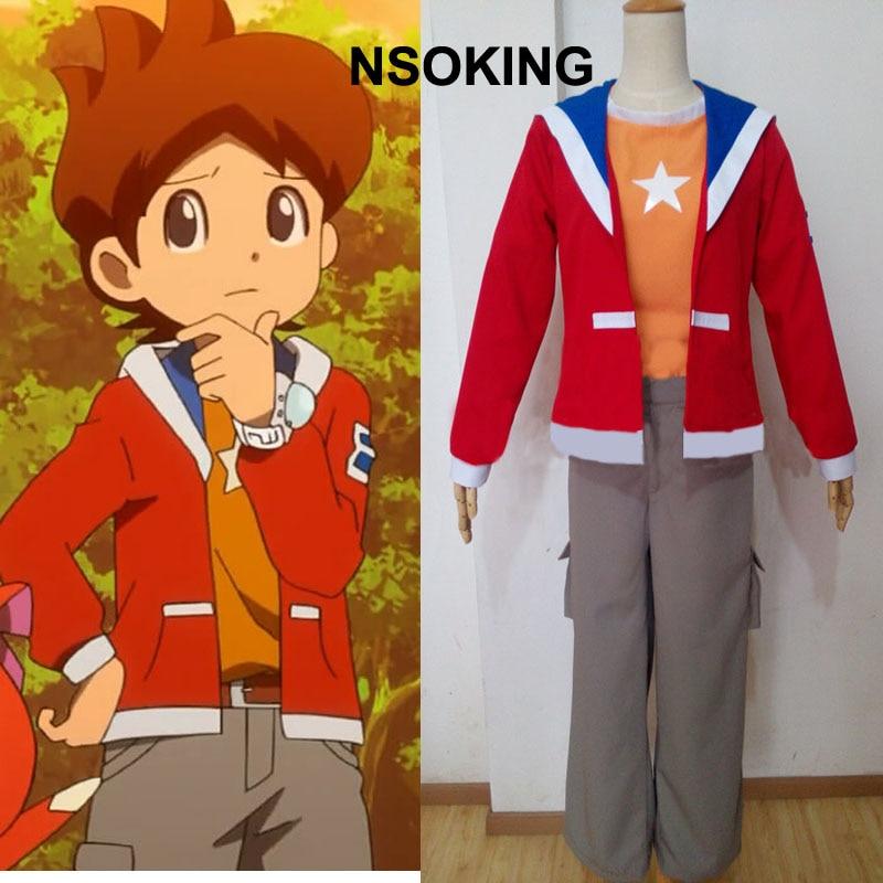 Anime Youkai Orologio Amano Keita Cosplay Custom-Made