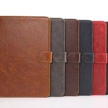 Crazy Horse PU Leather Cover with Card Slots for Apple iPad Mini 4 Mini4 7.9