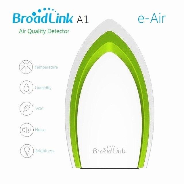 Broadlink aire smart a1 e-aire wifi detector de calidad del aire pm2.5 prueba de