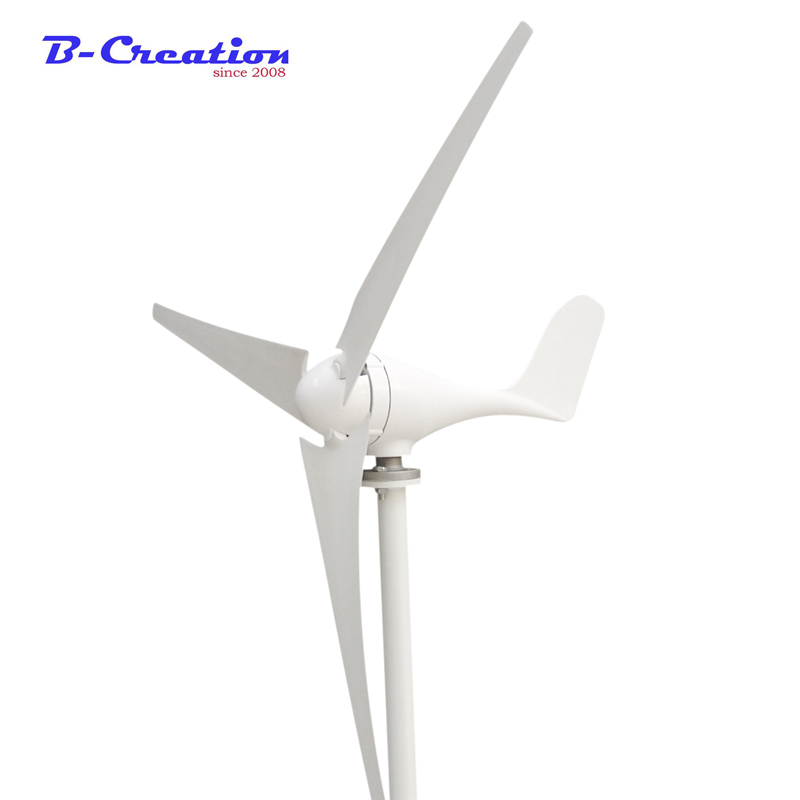 300W 12/24V mini wind generator, 3 blades wind turbine generator, CE&ROHS approval wind power generator 1kw horizontal wind turbine generator 3 5 blades start up 2m s 24v 48v optional wind generator ce approval