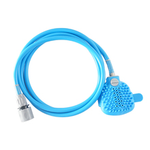 High Quality Pet Bathing Tool Comfortable Silicone Massager Shower Cleaning Washing Bath Sprayers Dog Brush Hot Sale