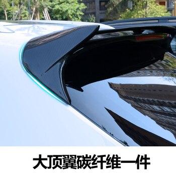 Подходит для Porsche 15-17 macan углеродного волокна задний спойлер заднее крыло >> Super Trading Store