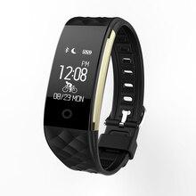 S2 Smart Bracelet Bracelet Coeur Taux IP67 Étanche Gel De Silice Mode fit bit montres Pour Iphone et Android Smartphone