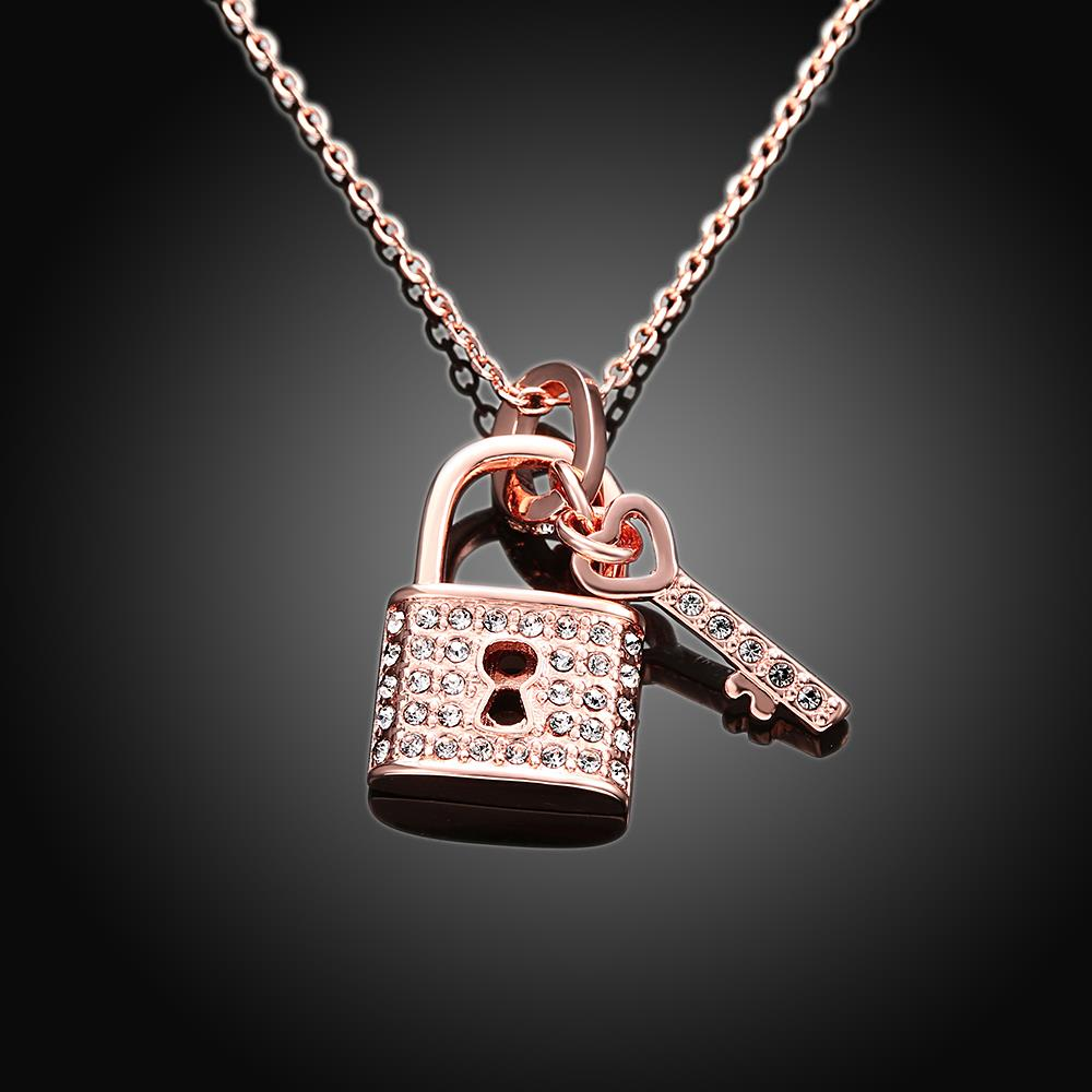Lock in my heart love crystal key lock pendant necklace rose jy0067 lock in my heart love crystal key lock pendant necklace rose jy0067 in pendant necklaces from jewelry accessories on aliexpress alibaba group aloadofball Image collections