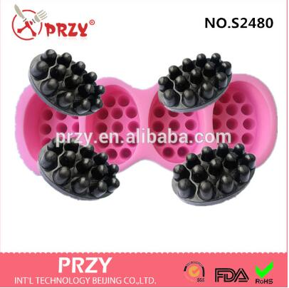 Soap Mold Massage silicone soap molds custom soap mould handmade soaps molds aroma stone moulds