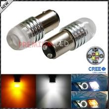 IJDM 1157 2057 2357 20 W Alto Potere Luminoso Eccellente Bianco/Ambra Gradi Lustro Switchback LED Lampadine per la Parte Anteriore Indicatori di direzione