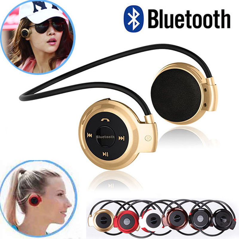 factory price <font><b>Mini</b></font> <font><b>503</b></font> <font><b>Bluetooth</b></font> Headset Headphone Music Neckband MP3 wireless sport Earphones with Mic support storage card