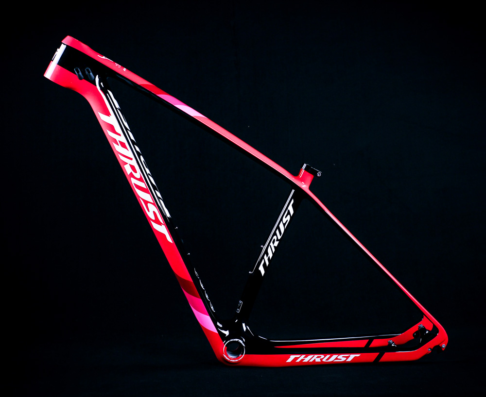 2019 New Thrust Color 29er 27.5er Size 15 17 19 Inch Fit For 135x9 And 142x12 Both Include 2 Pairs Rear Hangers 27.2 Seatpost