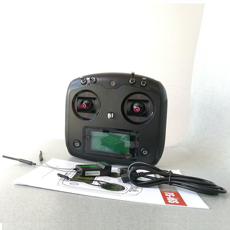 Original Flysky FS-iA6B 2,4g 10g ch transmisor TX FS-i6S receptor con soporte de teléfono para Avión RC avión Quadcopter Drone