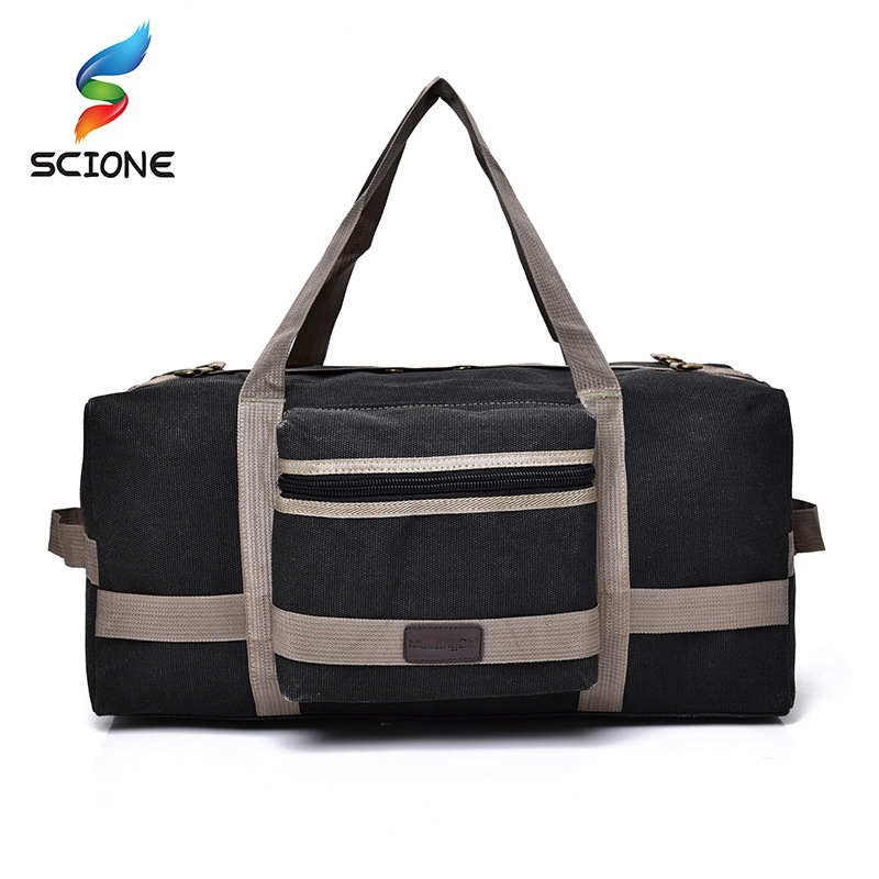 New Arrival 40L Large Capacity Canvas Handbag Shoulder Gym bag Duffel Tote Men Training Sports Bag bolso deporte For Male|deporte|deporte mandeporte gym - AliExpress