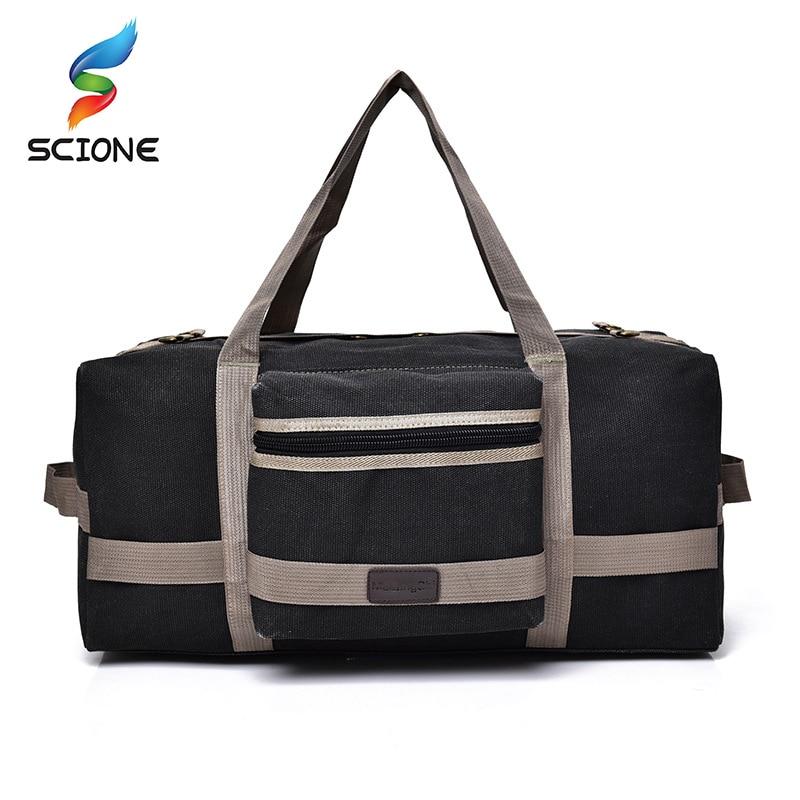 New Arrival 40L Large Capacity Canvas Handbag Shoulder Gym bag Duffel Tote Men Training Sports Bag bolso deporte For Male|deporte|deporte mandeporte gym - AliExpress