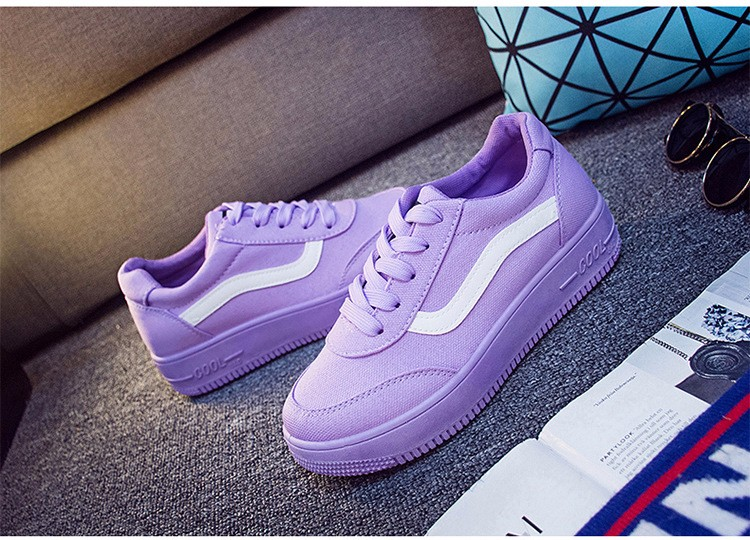 Free Shipping 2016 New Fashion Women Casual Shoes Comfortable Lace-up Woman Flats Classic Round Toe Sports Shoes ST427 (1)