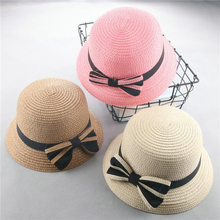 SUOGRY 2018 Summer Baby Hat Caps Children Breathable Big Brim Straw Kids Boy Girls Sun Hats Casquette Enfant