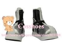 Custom made silver Sora Shoes from Kingdom Hearts Cosplay
