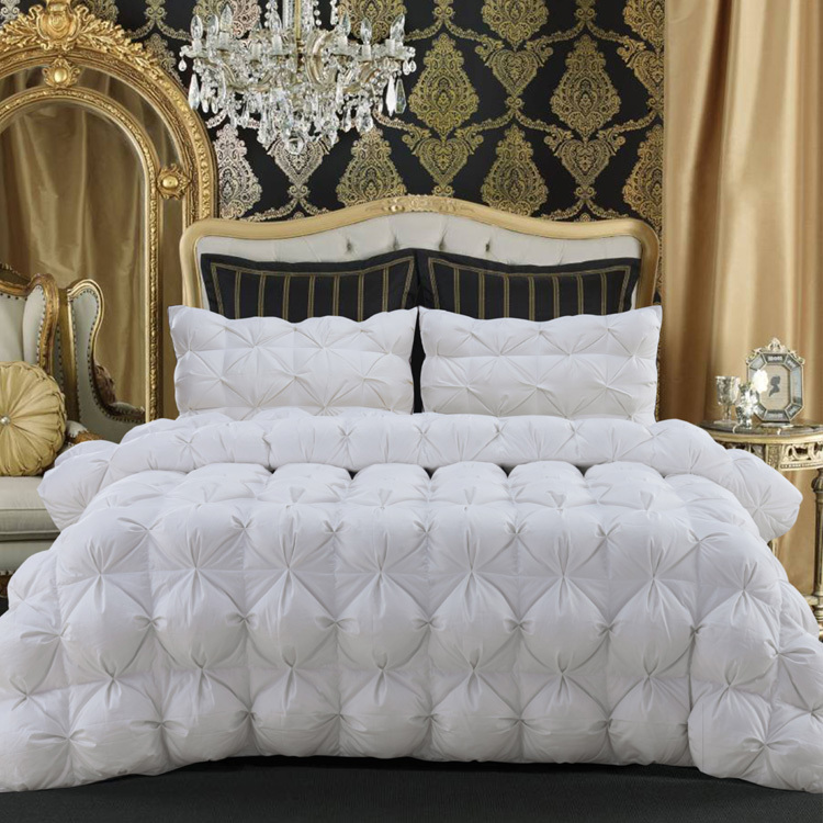 better qaulity bedding winter goose down comforter winter quilt warmly white comforter king size. Black Bedroom Furniture Sets. Home Design Ideas