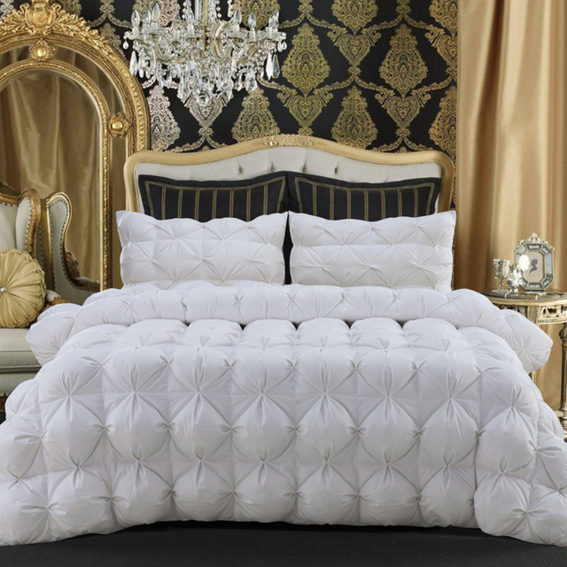luxury comforter comforters white king down goose