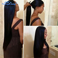 Peruvian Virgin Hair Straight Full Lace Human Hair Wigs Lace Front Human Hair Wigs For Black Women Front Lace Wig With Baby Hair