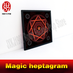 Image 4 - Room escape prop real life adventure game Magic heptagram touch the sensible points in correct sequence to unlock from JXKJ1987