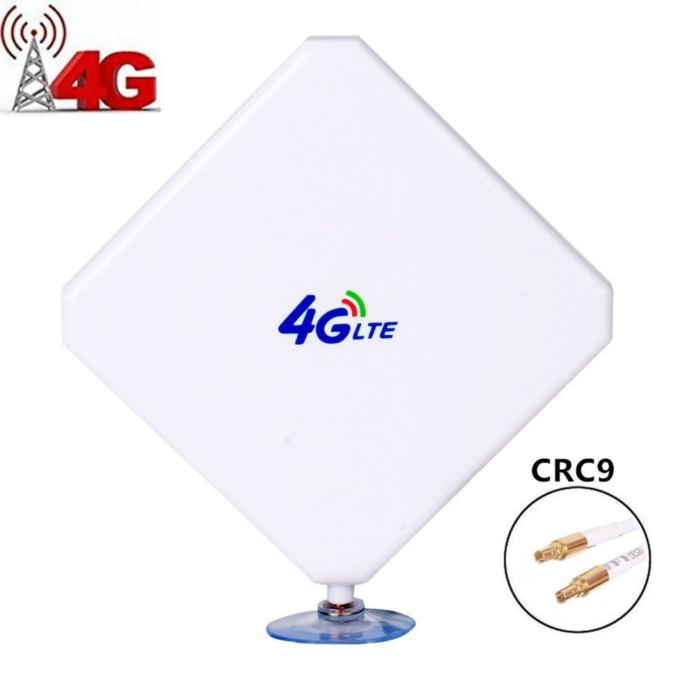 CRC9 Antenna 35DBI GSM High Gain 4G LTE Antenna Wifi Signal Booster Amplifier for E3372 E3272