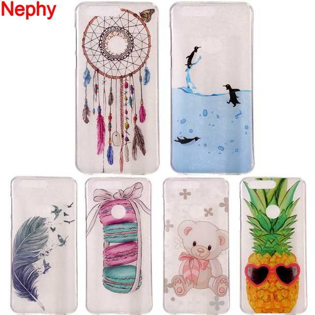 Nephy Clear Soft Phone Case For Huawei P8 P9 P10 P20 Lite Plus P8Lite P9Lite 2017 Honor 8 6c Mate 10 Lite Ultra Thin Back Cover