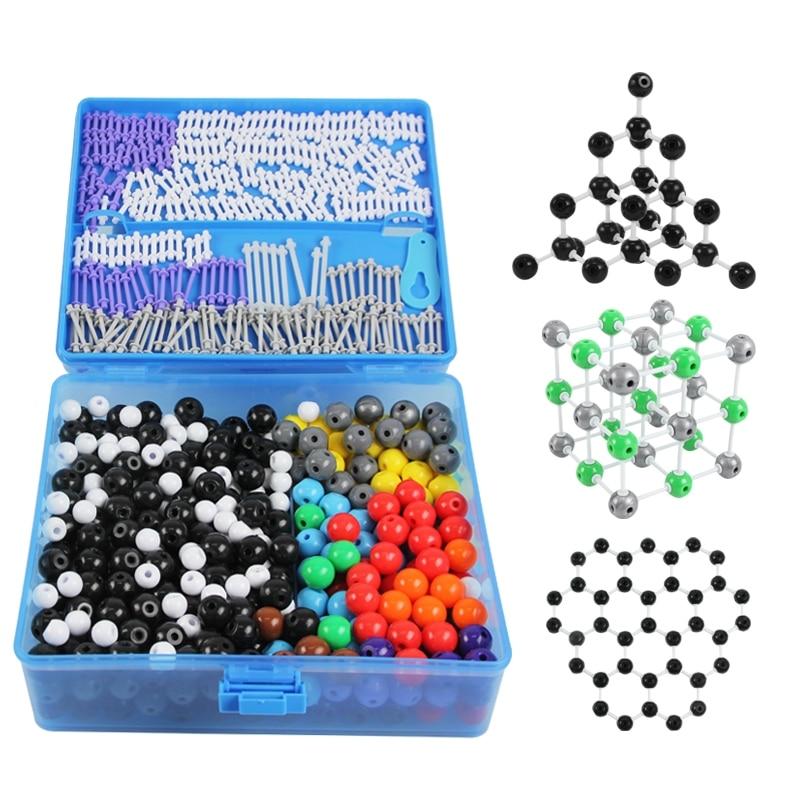 J3111 T chemische moleculaire structuur model uitbreiding versie demonstratie chemie experimentele apparatuur-in Educatieve uitrusting van Kantoor & schoolbenodigdheden op  Groep 1