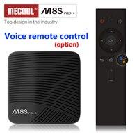 MECOOL M8S PRO L Android 7.1 Amlogic S912 TV BOX 4K HD WIFI Bluetooth Voice Remote Control Smart TV BOX Media Player PK X96