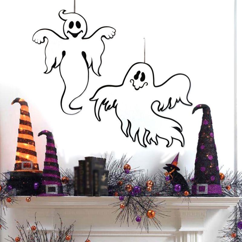 Halloween Scary Hanging Ghost Decoration For Door Room