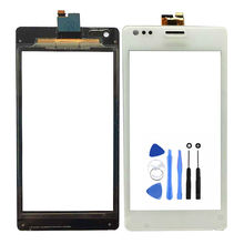 Free Shipping 4.0inch Front Panel Touch Screen Digitizer For Sony Xperia M C1904 C1905 with Tools